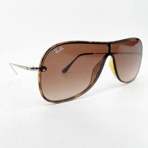 RAY BAN RB4311N Aviator Shield Sunglasses